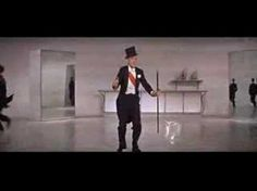 I like the way Fred Astaire uses white tie decorations
