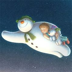 We're walking in the air. Snowman creator Raymond Briggs praises sequel to hit Christmas cartoon Christmas And New Year, All Things Christmas, Christmas Crafts, Christmas Decorations, Christmas Ornaments, Holiday Decor, Christmas Night, Magical Christmas, Father Christmas