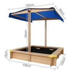 Children Canopy Sand Pit by Dwell Lifestyle. Get it now or find more Outdoor Play Equipment at Temple & Webster. Toddler Play Area, Toddler Playground, Backyard Playground, Kids Yard, Backyard For Kids, Sand Pits For Kids, Outdoor Play Equipment, Back Garden Design, Playhouse Outdoor