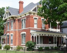 1888 Victorian: Queen Anne - Historic Wickham House in Council Bluffs, Iowa - OldHouses.com
