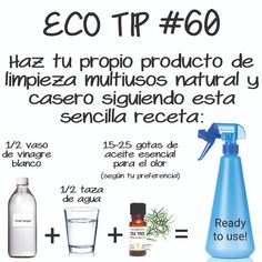 Household Cleaning Tips, Cleaning Hacks, Limpieza Natural, Save Our Earth, Natural Cleaning Products, Green Life, Carbon Footprint, Clean House, Biodegradable Products
