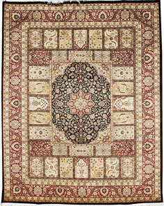 Bakhtiar rugs are normally associated to the Bakhtiaris - a nomadic group living in the western mountains of Iran.  http://www.alrug.com/4196