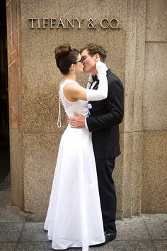 Wedding Shoot In New York Inspired By The Iconic Film At 5th Avenue Tiffany Co