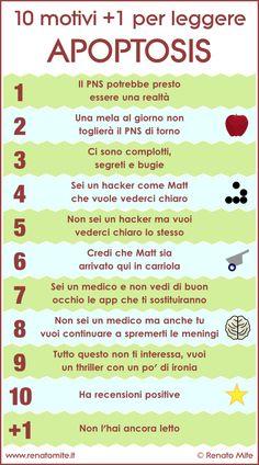 10 motivi +1 per leggere Apoptosis - Renato Mite - http://www.renatomite.it/it/opere/wplg/it-IT/apoptosis