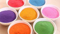How to Make Rangoli Colours at Home | Rangoli Powder with Sand | Little ...