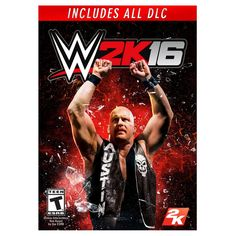 Stone Cold Steve Austin, the toughest sumbitch in the WWE, will appear on the cover of WWE Games announced today. WWE will arrive on PlayStation PlayStation Xbox 360 and Xbox. 2k Games, Xbox 360 Games, Phone Games, Wwe Lucha, Microsoft, Videogames, Jeux Xbox One, Wrestling Games, Wwe Game