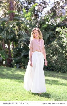 think out of the box when considering your bridesmaid's looks for the day! Bridesmaids, Bridesmaid Dresses, Lace Skirt, Fashion Inspiration, Fresh, Unique, Pretty, Skirts, Blog