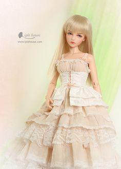 :: Crafty :: Doll :: Clothes 2 :: JID_GIRL Peach pink set. Одежда BJD