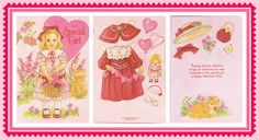 All the paperdolls pictured here are from my own personal collection and that of my daughter.  Click on any picture to enlarge it.  (This i...