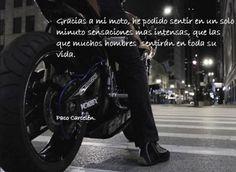 imagenes de motociclistas con frases