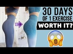 I Did 100 Bridges Everyday For 30 days Bridge Workout, Glute Bridge, Hip Workout, Workout Videos, Squat Challenge Results, Glute Challenge, Toning Workouts, At Home Workouts, 100 Squats A Day