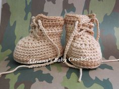 A personal favorite from my Etsy shop https://www.etsy.com/listing/226219917/baby-combat-boots