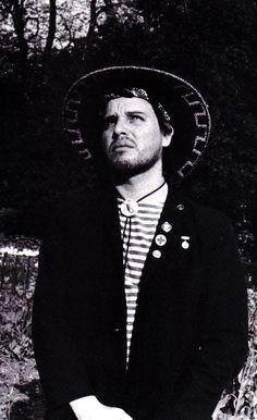 Jeffrey Lee Pierce of the Gun Club (rare photo from Judas Jesus book)
