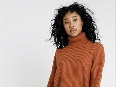 In arrivo il maglione riscaldabile (e che ti fa risparmiare) - Impact High Neck Dress, Turtle Neck, Sweaters, Dresses, Fashion, Turtleneck Dress, Vestidos, Moda, Sweater