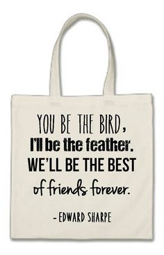 Tote bag cotton canvas unique birthday gift by JenniferDareDesigns Birthday Presents For Him, Unique Birthday Gifts, Best Friends For Life, Gifts For Friends, Cotton Bag, Cotton Canvas, Meaningful Quotes, Inspirational Quotes, Photography Words