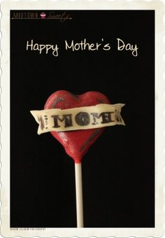 Mother's Day Tattoo Cake Pops