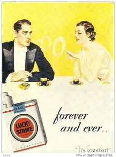 Lucky Strikes  Cigarettes  a-3182