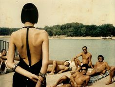 Helmut Newton. Milan, 1982.