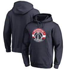 Washington Wizards Team Essential Pullover Hoodie - Navy