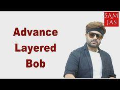 Advance Layered Bob Tutorial In Hindi By Jas . Sam And Jas Academy Mumbai Hair Cutting Techniques, Cutting Hair, Mumbai, Hair Cuts, Bob, Layers, Hair Beauty, Youtube, Haircuts
