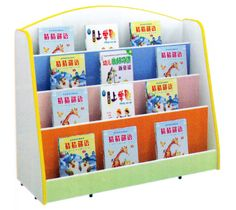 Wooden book shelf 100*35*90cm