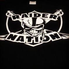 Raider Nation Logos | Raider Nation Skull & Swords Shirt | Flickr - Photo Sharing!