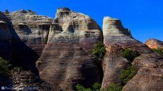 Dica de Destino. Os paredões rochosos do Canyon das Andorinhas no Piauí apresenta belas paisagens como essa. Prepare as malas e conheça belezas como essa. Foto: Flávio Veloso.