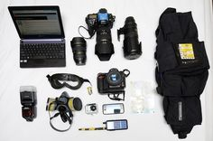 Packing for a Protest: The Gear Journalists Take to Report in Conflict Areas
