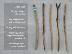 Whittled twig hairpins tutorial....I love hair pins. What a great idea for when you go on a trip, find a twig and make something pretty for your hair!