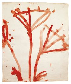 Cy Twombly, UNTITLED (POPPY FLOWERS)