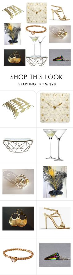 """Party Time"" by einder ❤ liked on Polyvore featuring interior, interiors, interior design, home, home decor, interior decorating, Carolina Herrera, Jayson Home, LSA International and Halston Heritage"