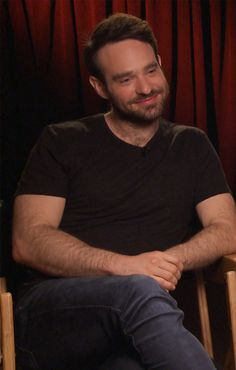 """Watch and Laugh as Daredevil's Rosario Dawson and Charlie Cox Play """"Superhero vs. Charlie Cox, Superhero Stories, Defenders Marvel, Rosario Dawson, Attractive People, Daredevil, Good Looking Men, Famous Faces, Perfect Man"""