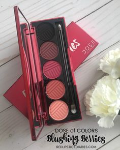 Dose of Colors Blushing Berries Swatches and Thoughts #doseofcolors #BlushingBerries