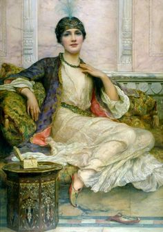 William Clark Wontner, The Jade Necklace, 1908