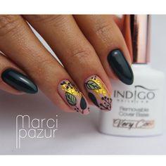 Cute Nail Art, Cute Nails, Autumn Nails, Beauty Nails, Nail Designs, Polish, Nailart, Fashion, Nails Inspiration