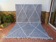 Beni Ourain, Berber Rug, Handmade Rugs, Moroccan, Vintage Antiques, Wool, Etsy, Awesome, Products