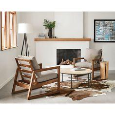 Cowhide Natural Rug - Modern Rugs - Entryway - Room & Board