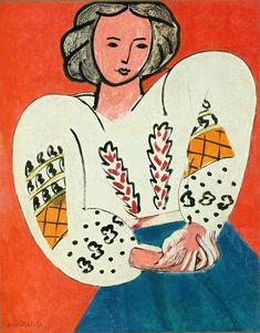 The Rumanian Blouse By Henri Matisse