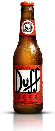 Duff beer. Not that bad