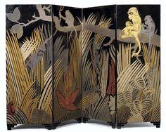 Paravent aux singes (1929) Jean Dunand