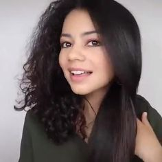 Curls With Straightener, Glam House, 4 In 1, Hair Beauty, Long Hair Styles, Eyes, Fashion, Transitioning Hair, Hair Type