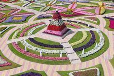 Parque mais florido do mundo