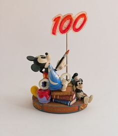 Disney World 100 Years of Magic Mickey Mouse Pie Eye Photo Note Holder