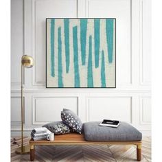 """30 in. x 30 in. """"Spectrum Hieroglyph VII"""" by June Erica Vess Framed Wall Art WAG146818_3030CF - The Home Depot Canvas Art Prints, Painting Prints, Contemporary Wall Decor, Classic Theme, Office Walls, Detail Art, Hanging Art, Wall Spaces, Black Wood"""