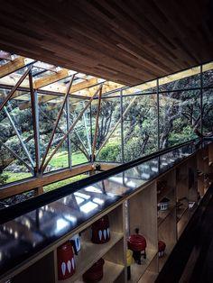 More interiors, House Under Pohutukawa in New Zealand.