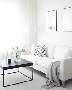 Find your favorite Minimalist living room photos here. Browse through images of inspiring Minimalist living room ideas to create your perfect home. Elegant Living Room, Living Room White, My Living Room, Living Room Decor, Small Living, Modern Living, Living Area, Cozy Living, Luxury Living