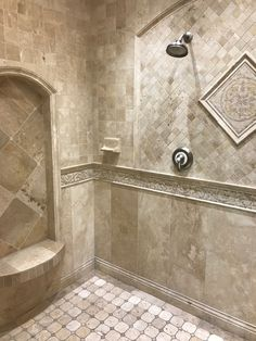 Tips, techniques, as well as manual when it comes to receiving the greatest outcome as well as attaining the max use of walk in shower tile ideas Bathroom Floor Tiles, Bathroom Fixtures, Tile Floor, Wall Tile, Bathroom Wall, Walk In Shower Designs, Bathroom Designs, Luxury Shower, Steam Showers Bathroom