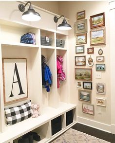 """640 Likes, 34 Comments - TONE ON TONE (@loithai) on Instagram: """"""""A"""" is for absolutely awesome! Got a big crush on this charming mudroom from my talented friend…"""""""