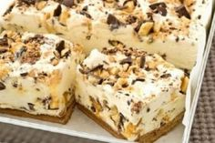 Greek Sweets, Greek Desserts, Indian Dessert Recipes, Desert Recipes, Ethnic Recipes, Condensed Milk Desserts, Mousse, No Bake Slices, Digestive Biscuits