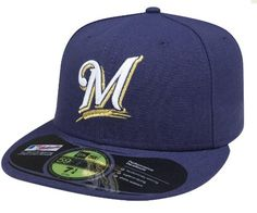 MLB Milwaukee Brewers Authentic On Field Game 59FIFTY Cap, Navy Blue:Amazon:Sports  Outdoors